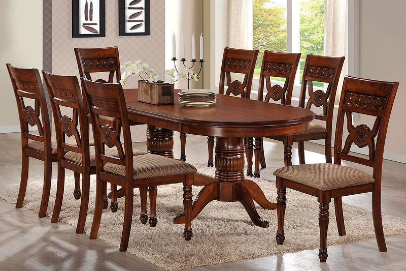 8 Seater Dining Table Set By Associative Agro Farm 8 Seater Dining Table Set Id 5003384