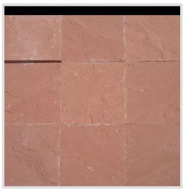 Agra Red Sandstone Paving