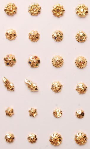 Buy Emboss Nose Pin From Panjab Jewelry P Ltd Amritsar India
