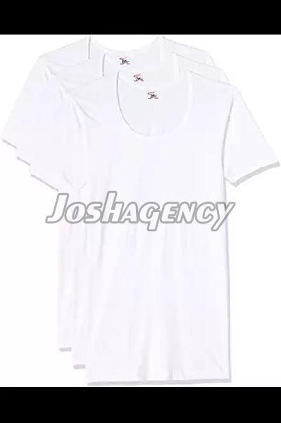 Mens Plain White T-Shirt