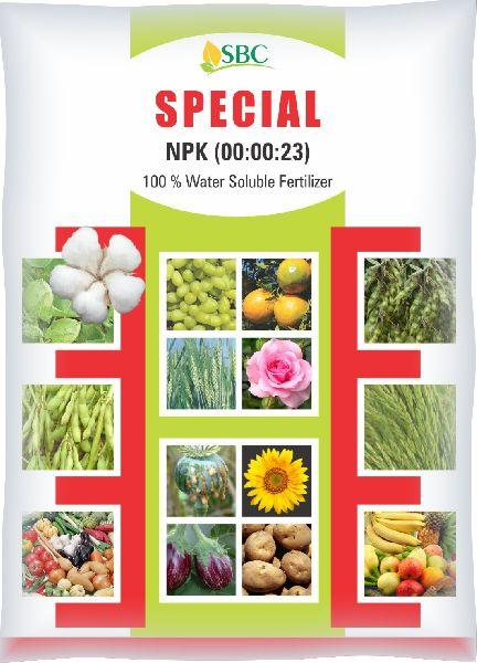 NPK 00-00-23 Water Soluble Fertilizer