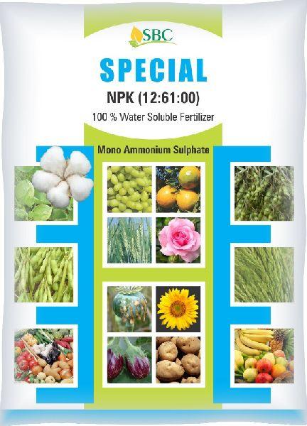 NPK 12-61-00 Water Soluble Fertilizer