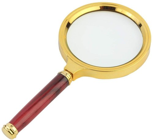 White Magnifying Glass