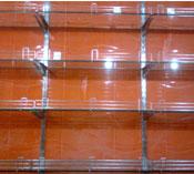Glass Display Shelve