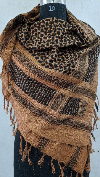 Cotton Jacquard Arafat Scarf
