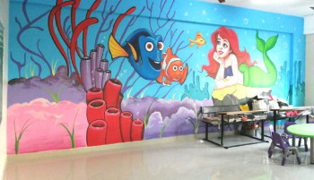 Services Play School Wall Painting From Indore Madhya Pradesh India By Rk Fine Art Id 2157357