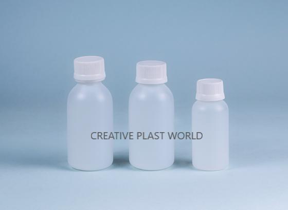 Plastic Dry Syrup Bottles