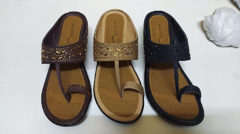 Ladies Lycra Slippers