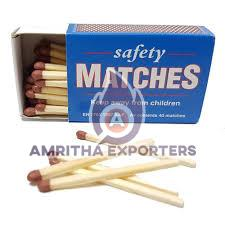 Wooden Safety Matches (36050010)