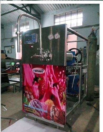 Stainless Steel Ice Cream Making Machine