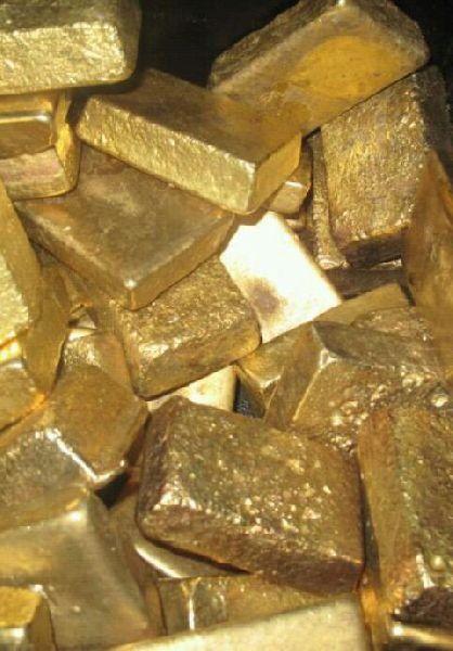 Au Gold Bar (gold dust gold nuggets gold bar)
