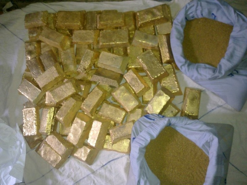 Au gold dore bars and nuggets (au gold)