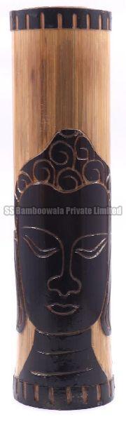 Bamboo Carved Flower Vase