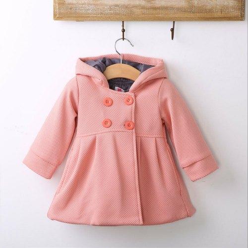 Girls Woolen Overcoat