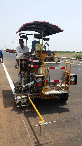 Thermoplastic Automatic Road Marking Machine