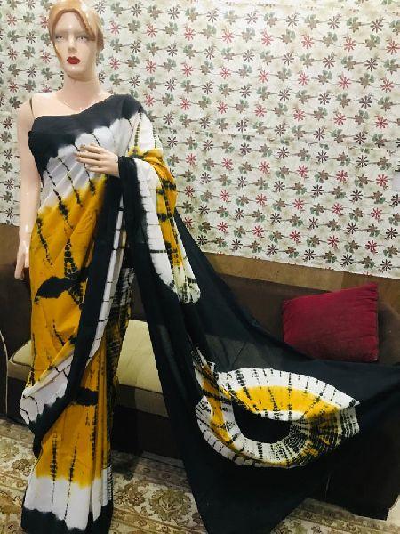 Stylish Hand Block Printed Sarees