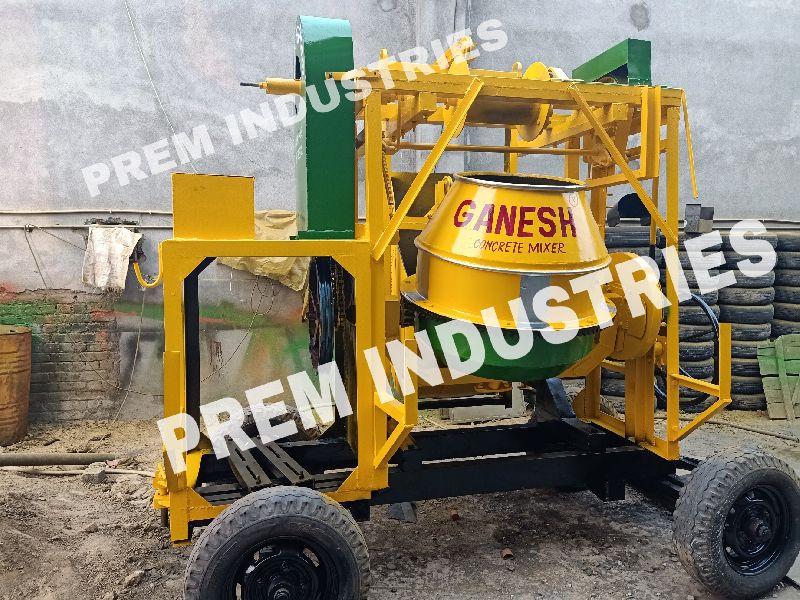 Concrete Miller Machine