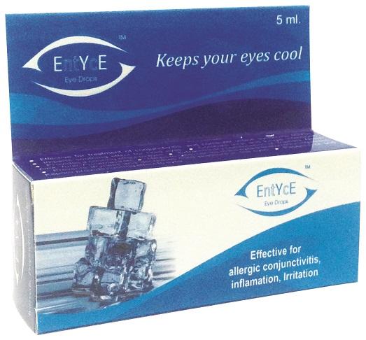 Jiwadaya Entyce Ayurvedic Rose Water Base Herbal Eye Drops - 5ml (H043SH)