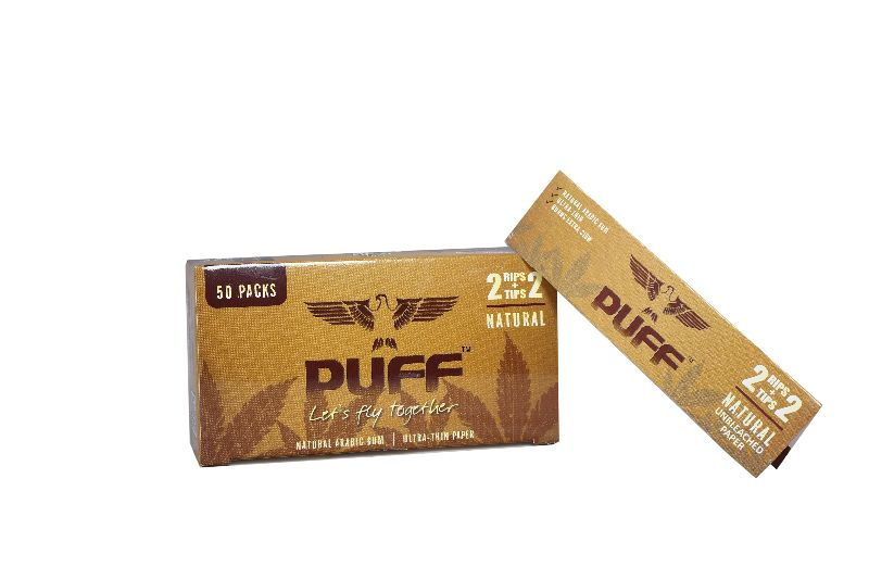Puff Rolling Papers (Natural) (2+2) (PUFF_N2)