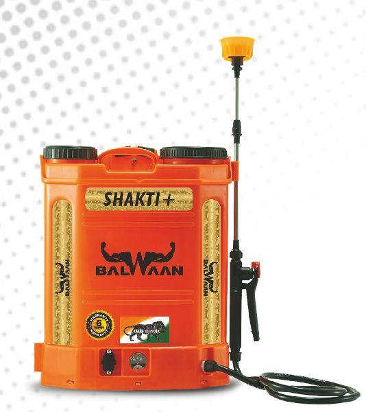 Battery power sprayer