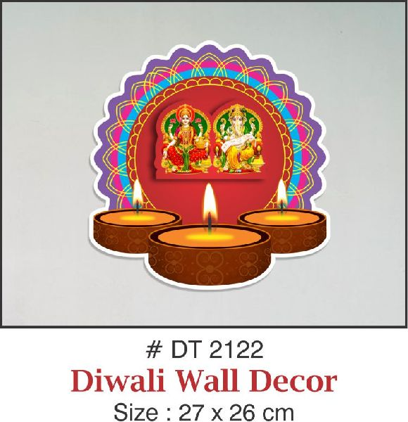 Paper Laxmi Ganesh Ji Wall Decor Buy Paper Laxmi Ganesh Ji Wall Decor