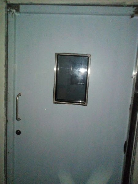 SS flush door
