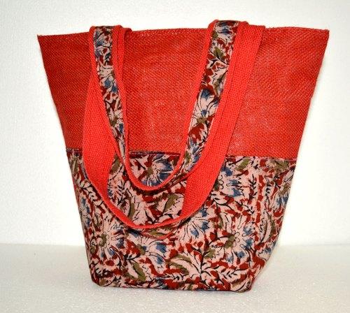 Fancy Jute Tote Bag
