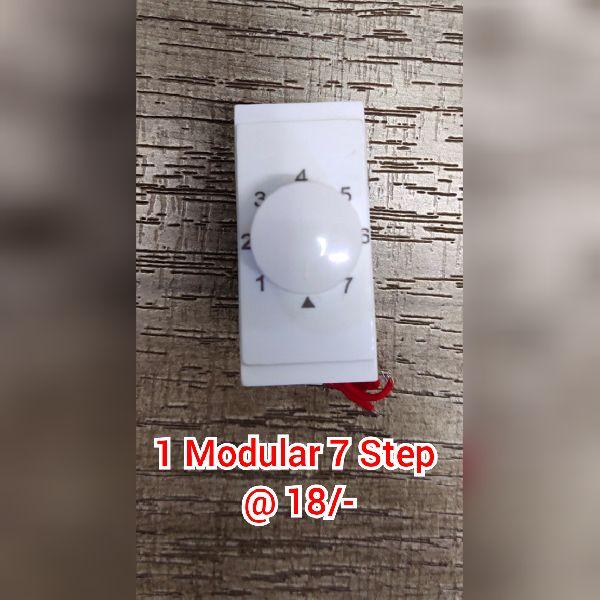 1 Modular 7 Step Fan Regulator