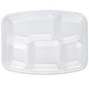 Disposable Compartment Paper Plates