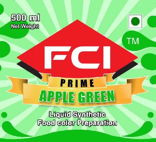 Liquid Apple Green Food Colour