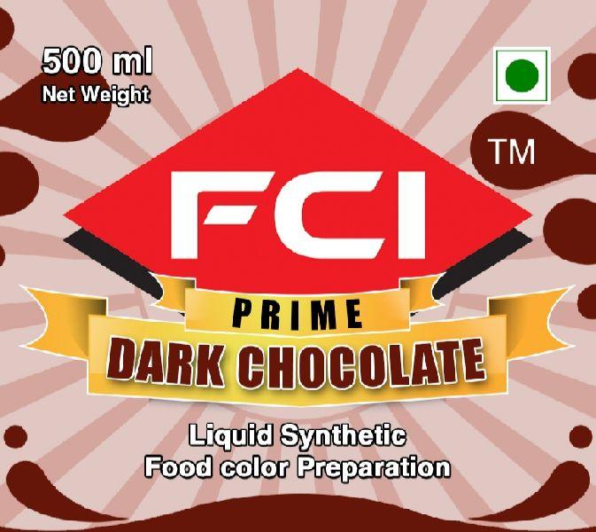 Liquid Dark Chocolate Food Colour
