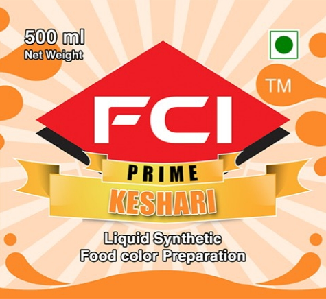 Liquid Keshari Food Colour
