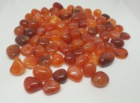 Red Carnelian Tumbled Stone