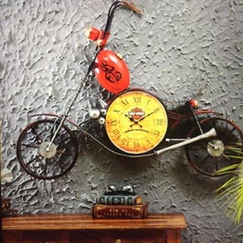 Iron Bike Wall Clock