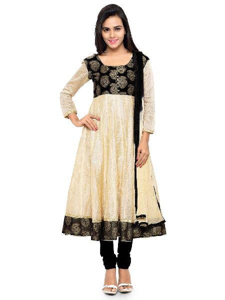 Chanderi Anarkali Suits