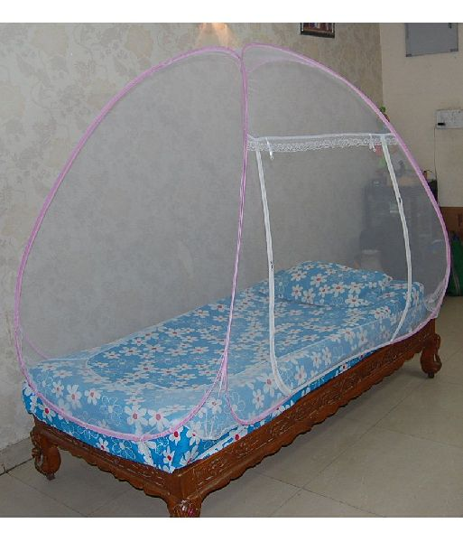 Foldable Single Bed Mosquito Net