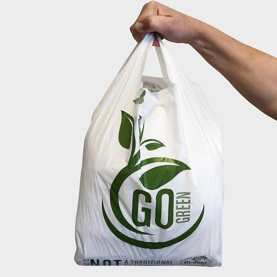 Compostable and Biodegradable Carry Bags