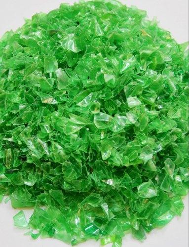 Green PET Bottle Flakes