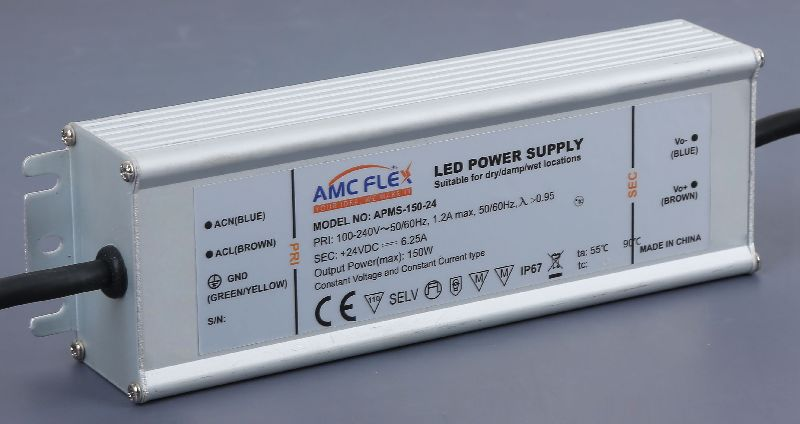 150W 24V 6250mA Voltage outdoor LED Power Supply (APMS-150-24)