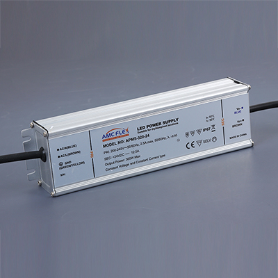 300W 24V IP67 SELV ROHS CE Waterproof LED Power Supply (APMS-320-24)