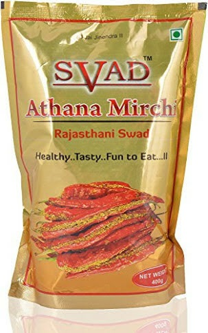 Red Athana Mirchi Pickle