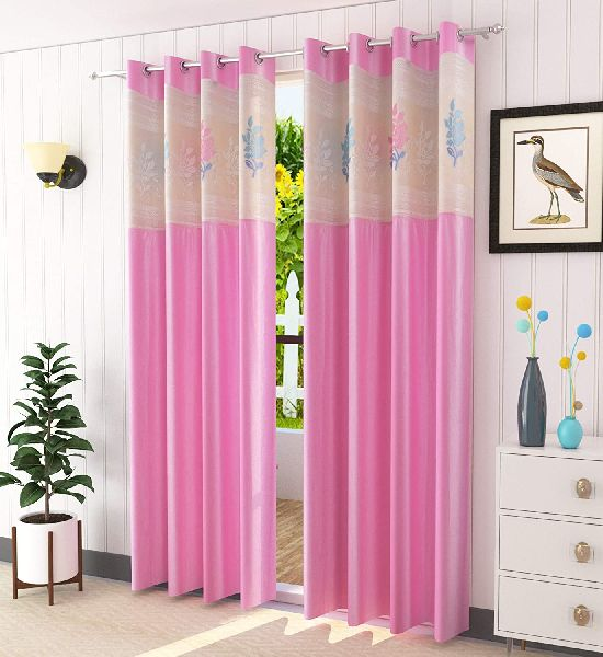 Polyester Long Curtains