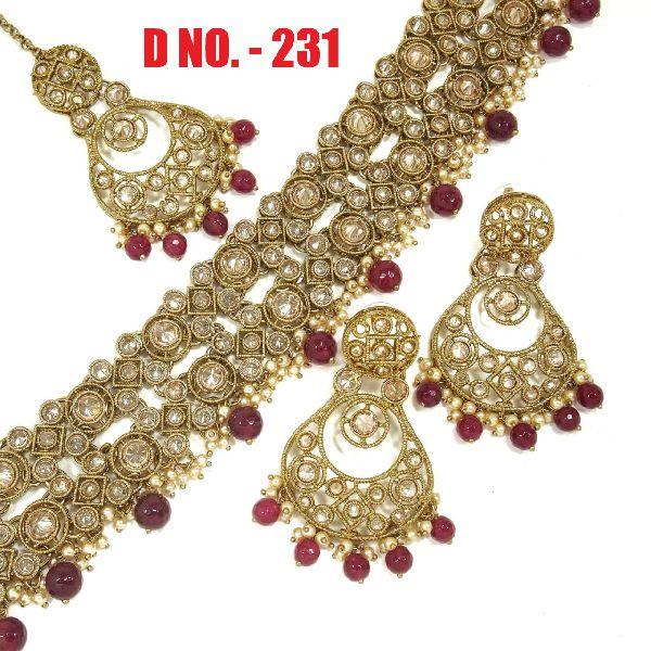 D.No. 231 Imitation Necklace Set