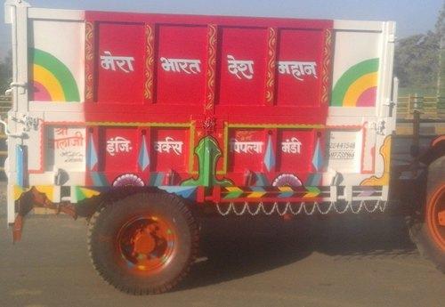 14 Ton Hydraulic Tractor Trolley