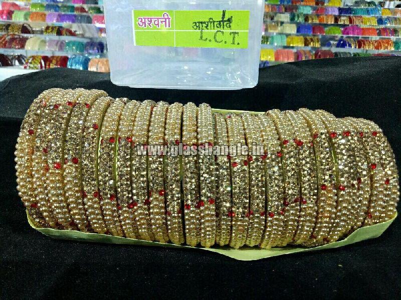 fashion lac bangles (Ashiward Golden Lac Bangles)