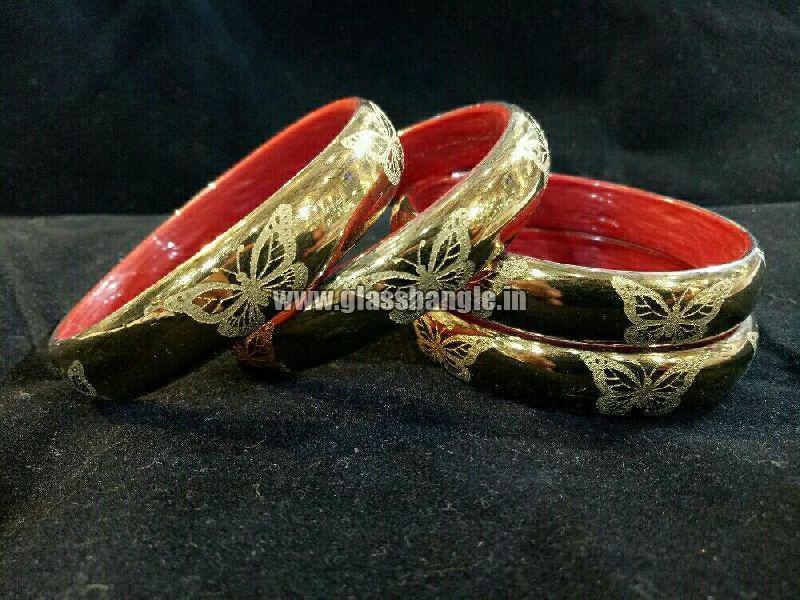 simple glass bangles