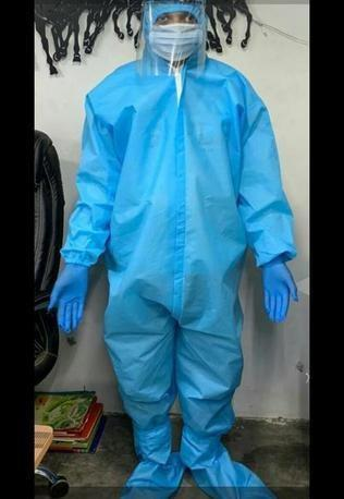 60 GSM Non Laminated PPE Kit