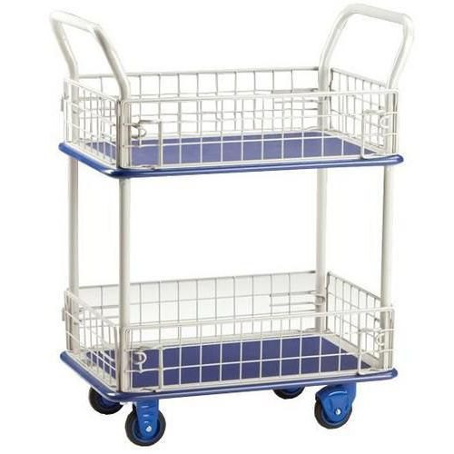 Stainless Steel Wire Mesh Trolley