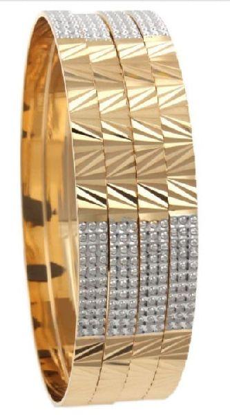 Ladies Fashion Gold Bangles