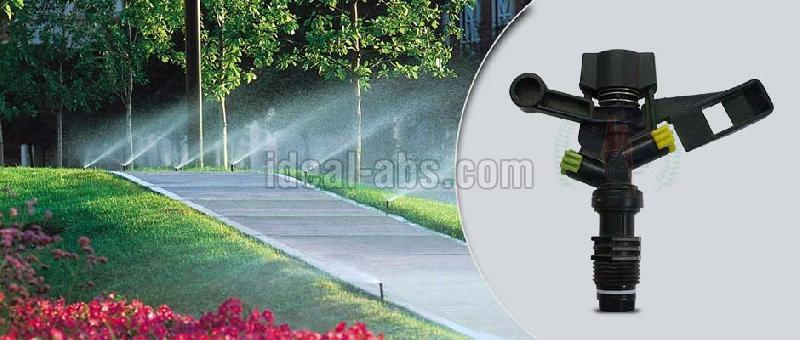 micro irrigation system as sprinkler